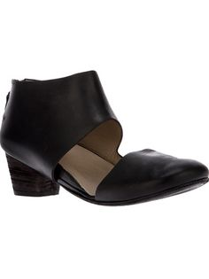 MARSÈLL cut-out ankle boot