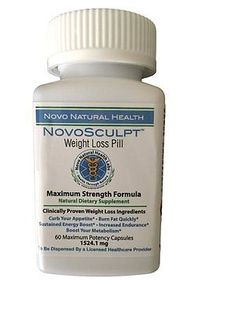 NovoSculpt All Natural Maximum Strength Weight Loss and Appetite Suppressant Weight Loss Supplements, Natural Health, Strength, Diet, Ebay, Banting, Diets, Per Diem, Food