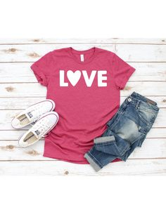 Choose Joy Shirt T shirt - Heather Raspberry Colored T-shirt - Graphic Casual Tee T shirt - Soft Tee - Women's Mom Unisex T- shirt Bella T Shirts, Mom Shirts, Cool T Shirts, Vinyl Shirts, Raspberry Color, Valentines Day Shirts, Love T Shirt, Tee Shirt, Funny Tees