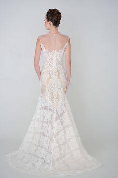 Eugenia Couture Wedding Dresses 2015 Spring Collection. To see more: http://www.modwedding.com/2014/07/10/eugenia-couture-wedding-dresses-2015-spring-collection/ #wedding #weddings #wedding_dress