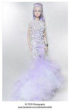 Lavender | Poppy Parker Mood Changer / Lilac Hair in Ghiya Gia Couture
