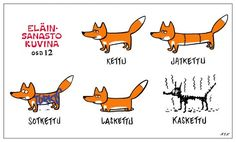 learn Finnish with a smile Stupid Pictures, Funny Pictures, Funny Facts, Funny Quotes, Learn Finnish, Finnish Language, Finnish Words, Dog Comics, Learn A New Language