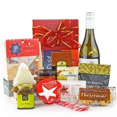 Wine and treats to share an enjoy at Christmas. One of our most popular gift hampers. All I Want, Things I Want, Christmas Gifts, Christmas Tree, Gift Hampers, Free Delivery, Great Gifts, Xmas Gifts, Teal Christmas Tree