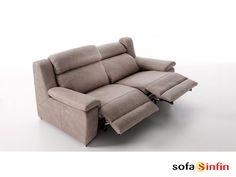 Sofá relax de 3 y 2 plazas modelo Blus fabricado por Acomodel en Sofassinfin.es