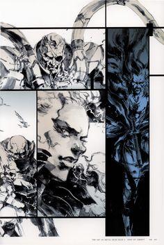 Metal Gear Solid 2 Concept Art