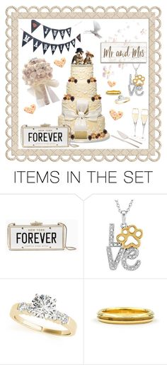 """""""Puppy Love 🐶♥️🐶"""" by shannon-brennan ❤ liked on Polyvore featuring art"""