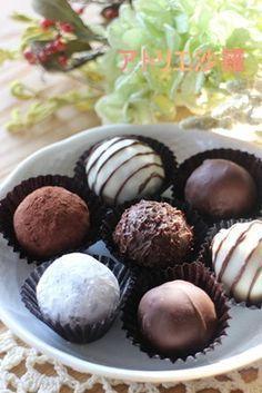 の 作り方 トリュフ チョコレートトリュフのレシピ(作り方)が17種類。初心者からプロ級まで。バレンタインのプレゼントはクーベルチュールで手作り♪