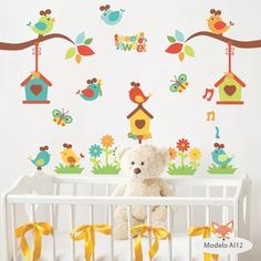 Las 42 Mejores Imagenes De Vinilos Decorativos Arboles Infantiles
