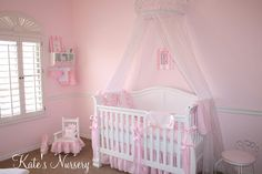 {Project Nursery} Kate's Pretty in Pink Baby Room! - The TomKat Studio