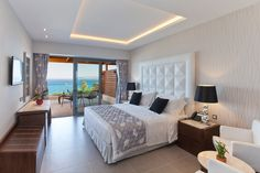 View the photos from the hotel, the restaurants and the exterior of Boutique luxury hotel in Rhodes. Holiday Boutique, A Boutique, Rhodes Hotel, Relaxing Holidays, Soothing Colors, Hotel Spa, Hotel Bedrooms, Luxury, Terrace