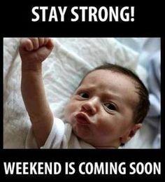Ready, set......Weekend is here.