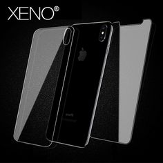 10da40bce13 Buy Tempered Glass for iPhone X 8 7 plus screen protector iphone 6 5 SE XS  MAX XR Film front back Protective