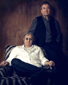 Rock Gods, Ian Gillian and Ian Paice of Deep Purple
