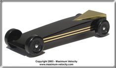 Extended Wedge Turbo Pinewood Derby Car Design