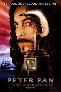 Peter Pan's Captain James Hook play by   (Jason Isaacs)