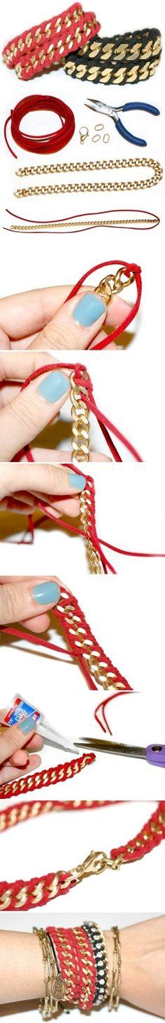 DIY bracelet by TinyCarmen