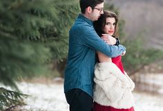 Photo from Brandon + Hannah | Winter Wonderland collection by Elm + Evermore