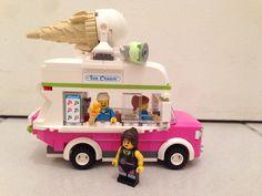 Lego camion de glaces