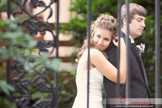 #bride and #groom at the Garden on Millbrook. To see more pictures go to www.carolinezphotography.com