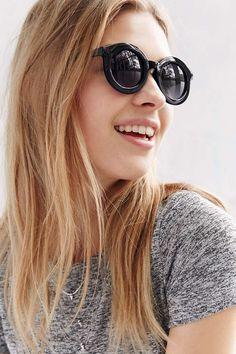 987d48e3766add Pandora Round Sunglasses. Round Frame SunglassesBlack SunglassesRay Ban  SunglassesSunglasses WomenUrban Outfitters ...
