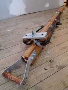 I built my first heavy crossbow when I was about 13 years old. It was a quite powerful device, powered by a rubber sling - a 10mm O-ring I just 'found' on a public...