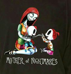 "Nightmare Before Christmas ""Mother of Nightmares"" Shirt"
