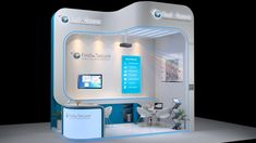 3d exhibition stall design by Manindar on deviantART