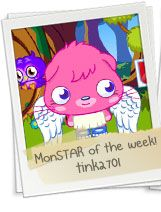 Moshi Monster MonStar of the week!