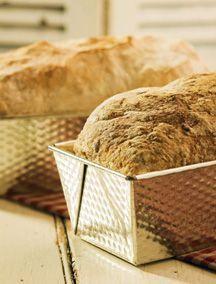 Country Bread / City Bread - Chef Michael Smith - made the City Bread - loved the crust on this bread, soft and spongy bread Savoury Baking, Bread Baking, Chefs, Tart Bakery, Bread Recipes, Cooking Recipes, What's Cooking, Chef Michael Smith, Country Bread
