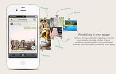 Before, during, and after wedding, you and your guests can take pictures of your wedding moments and items, upload to your wedding story page. Wedding Bells, Fall Wedding, Wedding App, Wedding Photos, Dream Wedding, Reception Activities, Android Apps, Free Android, Travel Dress