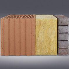 Besonders schlanke Ziegel für zweischaliges Mauerwerk von Wienerberger sehen nicht nur gut an der Fassade aus, es bleibt auch mehr Raum für die Fas… | Pinteres…
