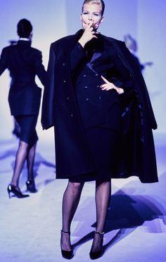 Mugler Fall 1995 Couture Collection Photos - Vogue#25#27