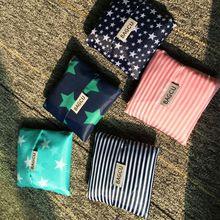 BAGCU criativo bolso dobrável sacola de compras portátil saco de viagem ombro saco eco reutilizáveis saco de armazenamento bolsa de mulher por atacado(China (Mainland))