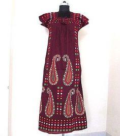Cotton Casual New Printed Maxi Dress Beach Wear Boho Indian Long Kaftan Maxi