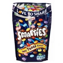 Smarties milk chocolates: Enjoy these milk chocolates in crisp colored shell.