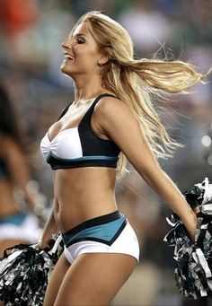 The Eagles Cheerleaders had such a great time cheering on the team during week three against the Steelers. Check out all the photos from Sunday's game. Hottest Nfl Cheerleaders, Football Cheerleaders, Nfl Football, Football Stuff, Famous Cheerleaders, Philadelphia Eagles Cheerleaders, Philadelphia Football, College Cheerleading, Cheerleading Outfits