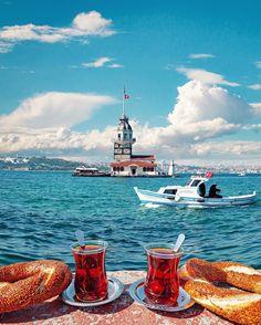 Istanbul, Turkey - New Tutorial and Ideas Istanbul City, Istanbul Travel, India Travel, Beautiful Places To Visit, Wonderful Places, Turkey Places, Turkey Hotels, Turkish Tea, Turkish Delight