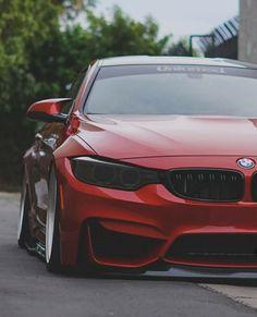 BMW F82 M4 red