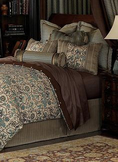 Bedding fit for beauty, relaxation and comfort.