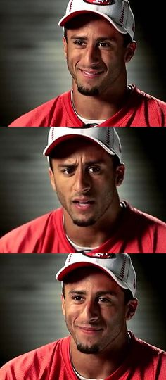Colin Kaepernick 49ers. Oh how much I adore you!!! You're such a cutie, a cute dork;)!