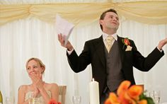 Need ideas for your wedding speech? Try our example wedding speeches, from best man and father of the bride speech ideas to bride and groom speech examples Bride Speech, Groom's Speech, Best Man Speech, Best Man Wedding Speeches, Best Speeches, Groom Speech Examples, Wedding Toast Samples, Maid Of Honor Speech, Wedding Toasts