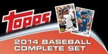2014 Topps Series 1 Complete Base Set 330 Cards Hand Collected