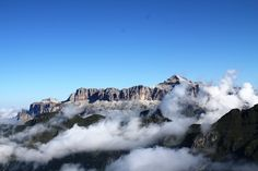The highest point in the Italian Dolomites is Mt. Marmolada at 3,343 m (10,968 ft)