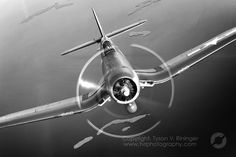 B&W Image of FG-1D Corsair