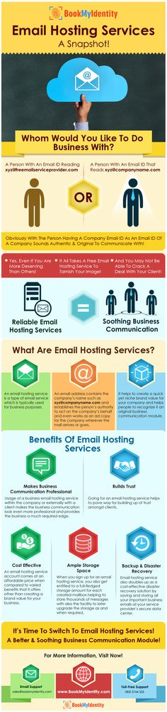 A business thrives on how good it communicates! Email hosting services aids to a great deal in setting it up vehemently. If you are having a business, email hosting services must be by your side to pave way for an issue-free communication module. Dig deeper & explore more now!