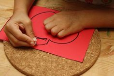 Apple Pin Punching & other Montessori Inspired Apple Activities (from Living Montessori Now)