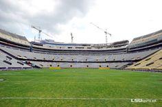 Tiger Stadium Construction Update 4/8/14 | TigerDroppings.com