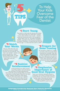 5 Tips to Help Your Kids Overcome Fear of the Dentist!