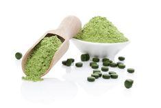 Chlorella-Algen zur Entgiftung  #chlorella #detox #greensoul
