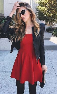 Take a look at the best red winter dresses in the photos below and get ideas for your outfits! Put on your flower crown and the Field of Dreams Burgundy Lace Maxi Dress and let the magic begin! Simple Red Dress, Red Dress Casual, Red Dress Outfit, The Dress, Dress Outfits, Fall Outfits, Casual Dresses, Cute Outfits, Fashion Outfits